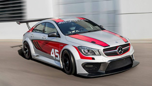Mercedes-Benz CLA 45 AMG Racing Series To Debut In Frankfurt