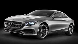 2013 Frankfurt International Motor Show: Mercedes-Benz S-Class Coupe Concept