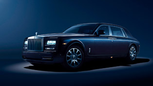 rolls-royce unveils celestial phantom model in frankfurt