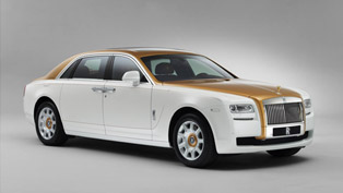 Rolls-Royce Ghost Golden Sunbird Unveiled On Facebook