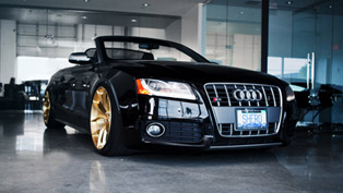 More Gold For SR Auto Audi S5 Convertible