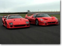 Ferrari F40 vs F50 [video]