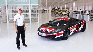 McLaren And Jenson Button Launch McLaren GREAT 12C