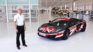 McLaren And Jenson Button Launch McLaren GREAT 12C