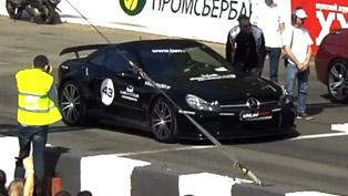 Mercedes SL 65 AMG Black Series vs BMW M6 F12 and Porsche 911 Turbo