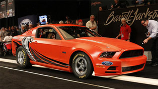 2014 Ford Mustang Cobra Jet Prototype Sold At Barrett-Jackson For $200,000