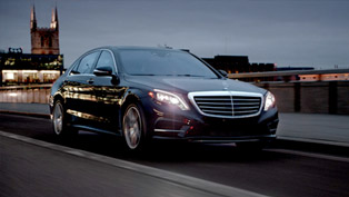 2014 Mercedes-Benz S-Class With On-Screen Debut [VIDEO]