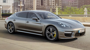 2014 Porsche Panamera Turbo S - 570HP and 750Nm