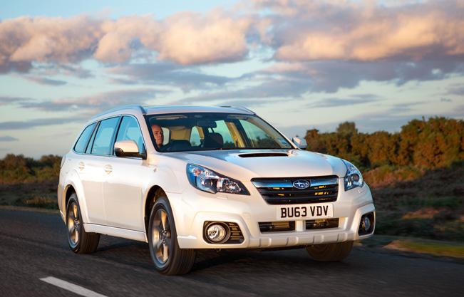 2014 Subaru Outback 2 0D SX Lineartronic