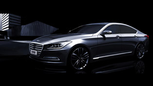 First Renderings And Details: 2015 Hyundai Genesis Sedan