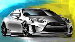 Hyundai Prepares Legato Concept Genesis Coupe For SEMA