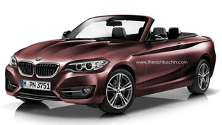 BMW 2-Series Convertible and GranCoupe [renders]