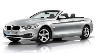 BMW 4-Series Convertible at the 2013 Los Angeles Auto Show