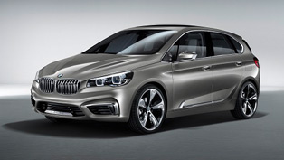 BMW Concept Active Tourer at the 2013 New York International Auto Show