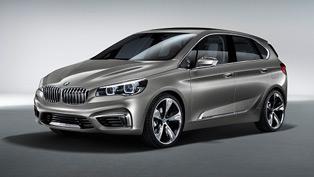 BMW Concept Active Tourer at the 2013 New York International Auto Show