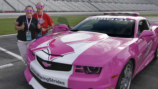 Chevrolet Supports Making Strides Against Breast Cancer