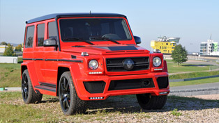 German Special Customs Mercedes-Benz G63 AMG Delivers More Power