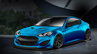 Hyundai JP Edition Genesis Coupe To Be Unveiled At SEMA