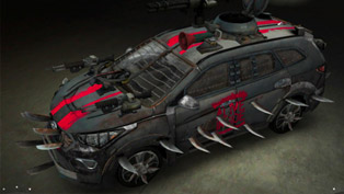 Hyundai Santa Fe Zombie Survival Machine BY Anson Kuo