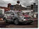Hyundai Unveils Santa Fe Zombie Survival Machine