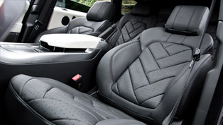 Kahn Design Develops New Executive Interior For 2014 Range Rover Sport