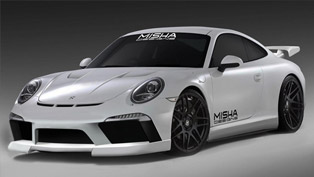 Misha Designs Porsche 911 at SEMA