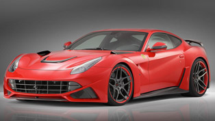 Novitec Rosso Ferrari F12 N-LARGO - 781HP and 722Nm