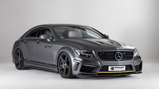 Prior-Design Mercedes-Benz CLS PD550 Black Edition Exudes Sportier Looks