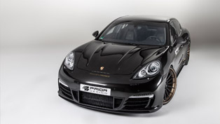 Prior Design Gives Porsche Panamera New Aerodynamic-Kit