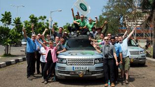 Range Rover Hybrid Completes 2013 Silk Trail Expedition [VIDEO]