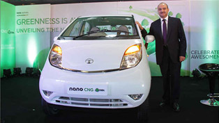 Tata Nano CNG emax Launched