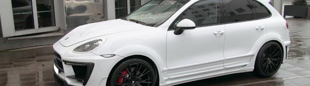 Anderson Germany Porsche Cayenne II White Dream Edition