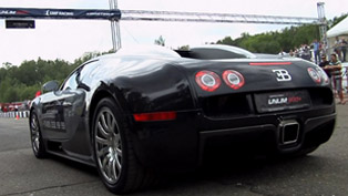 bugatti veyron vs nissan gt-r ekutec [video]