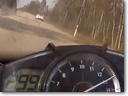 Mercedes-Benz SL63 AMG vs Yamaha R1 at 300 km/h [video]
