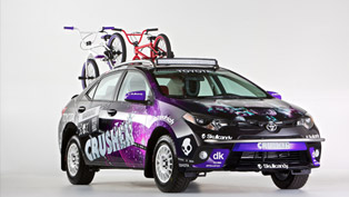 Toyota Dream Build Challenge Crusher Corolla Ready For SEMA [VIDEO]