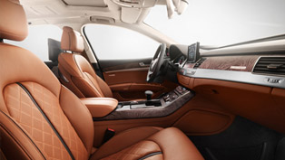 Audi Reveals The Interior Of 2014 A8 L W12 Exclusive Concept