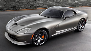 2014 Dodge SRT Viper GTS Gets Anodized Carbon Special Edition Package