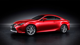 2014 Lexus RC Coupe Unveiled