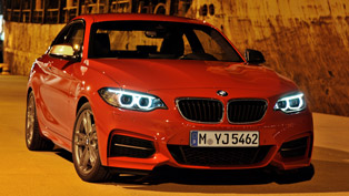 BMW M235i at the Race Track [video]