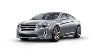 2015 Subaru Legacy Concept With World Debut In Los Angeles