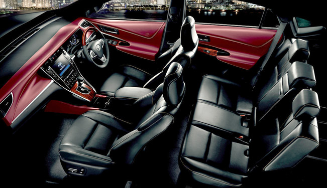2015 Toyota Harrier Interior