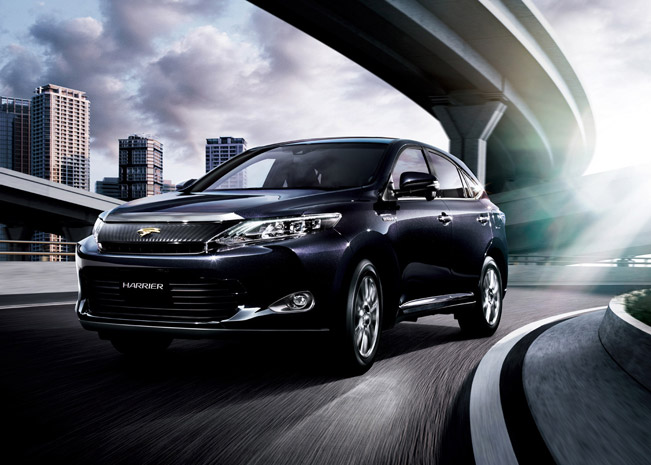2015 Toyota Harrier Front