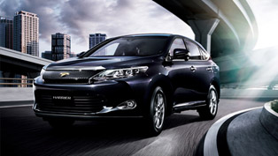 2015 Toyota Harrier Gets Redesigned