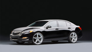 acura displays three customized sedans at sema
