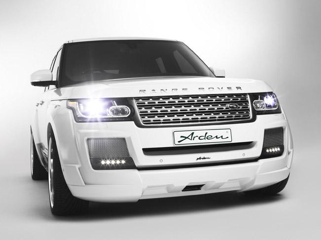 Official 2013 range rover ar 9 spirit by arden for Land rover tarbes garage moderne