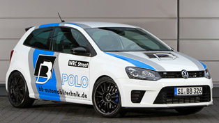 B&B Automobiltechnik Beef Up the Volkswagen Polo R WRC Street