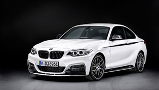 BMW 2 Series Coupe Gets M Performance Equipment