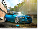 Atlantis Blue D2Forged BMW M3 CV13