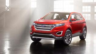 Ford Edge Concept Prepared For European Market