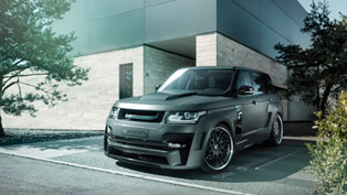 hamann range rover mystere gets wide-body upgrade [video]